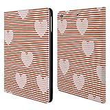 Head Case Designs Offizielle Ninola Haerzen Muster 2 Brieftasche Handyhülle aus Leder für iPad Air (2013)