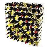 Cranville wine racks Classic pineta 72 Bottiglia e zincato Metallo Vino Rack autoassemblaggio