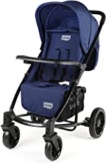 Luvlap Elite Baby Pram Stroller (Blue)