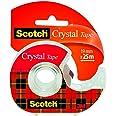 Scotch Kristal Sterke Tape, Gedeelde Rol, 19 mm x 25 m - 1 rol