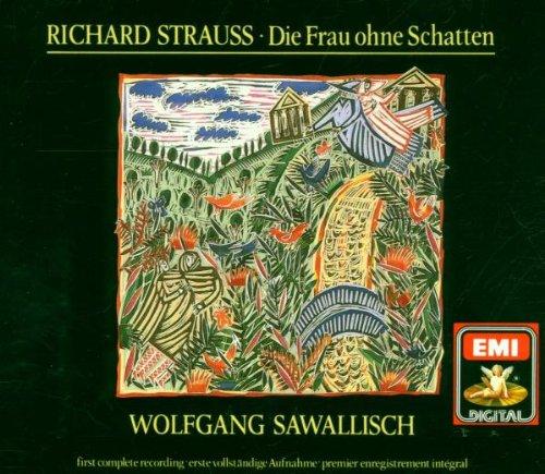 R. Strauss - Die Frau ohne Schatten [Import anglais]