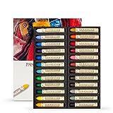 Sennelier-Pastel à l'huile-Boîte de 24 crayons de couleur Couleurs Assortis
