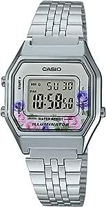 Casio Orologio Digitale Quarzo Donna con Cinturino in Acciaio Inox 4549526178528