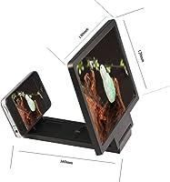 Andux 3D olarak Cep telefonu Mobile Ekran HD güçlendirici stand tutacak Cep telefonu Mobile video büyüteç HD Screen...