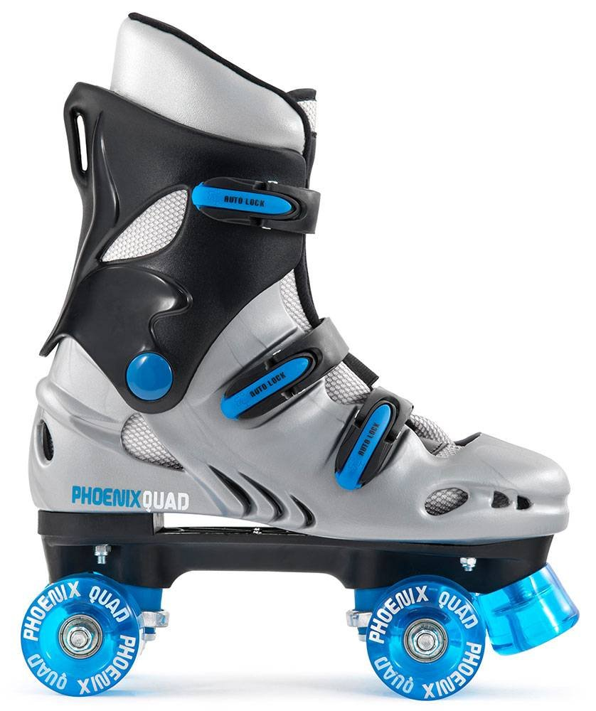 Rookie roller skates amazon - Junior Quad Inline Skates Pheonix Purple White Size 1 Amazon Co Uk Toys Games