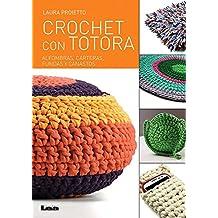Crochet Con Totora: Alfombras, Carteras, Fundas y Canastos