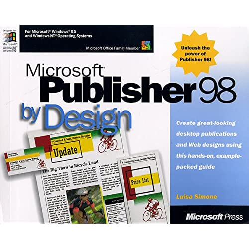 MS PUBLISHER 98 BY DESIGN