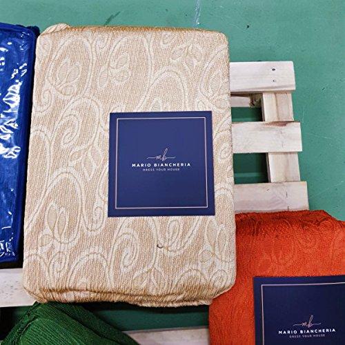 Petti, Artigiani Italiani Copridivano Elasticizzato, Tessuto Jacquard, Prodotto 100% Made in Italy, ideale per poltrone, divani a 2 posti, 3 posti e 4 posti (Grigio, Poltrona (85 a 110 cm))