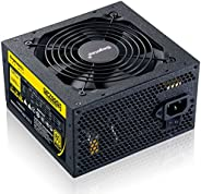 Segotep 600W GP700G ATX PC Computer Power Supply Gaming PSU 12V Active PFC 93% Efficiency 80Plus Gold Universa