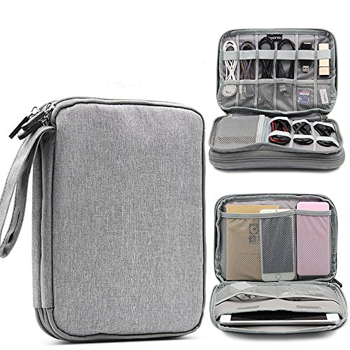 Drive Kit Notebook (5ALL Datenkabel Tasche Aufbewahrungsbeutel für große Datenkabel Multifunktionaler digitaler Aufbewahrungsbeutel U-Disk-Zubehör-Kit für Digitalkameras)