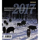 Mondhelligkeitskalender 2017: WILD und HUND
