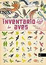 Inventario ilustrado das aves par Aladjidi
