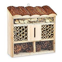 Insektenhotel 30 x 30 x 9,5 cm