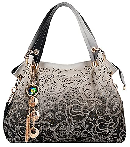 Coofit Ladies Faux Leather Handbags Shoulder Bags Totes Bags for
