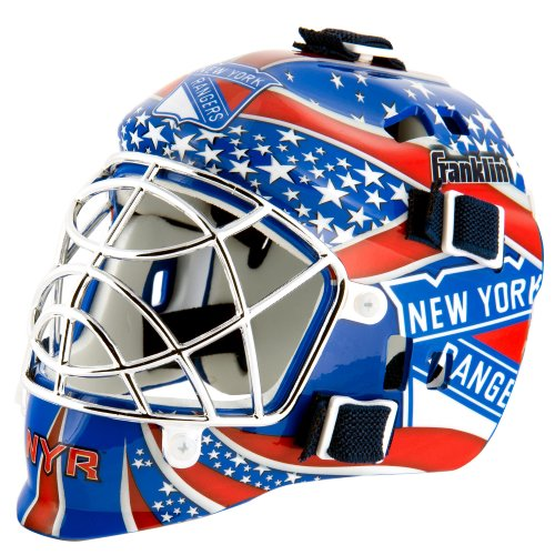 Franklin Sports NHL League Logo New York Rangers Mini Goalie Mask