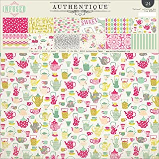 Authentique Paper Double-Sided Paper Pad 12-inch x 12-inch 2-Infused