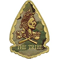 Olive Drab OD US Navy Seals Red Team Squadron THE TRIBE Morale DEVGRU Hook&Loop Patch