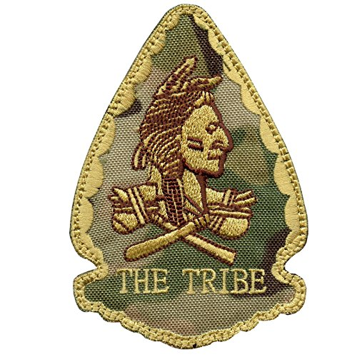 2AFTER1 Olive Drab OD US Navy Seals Red Team Squadron The Tribe Morale DEVGRU Hook-and-Loop Patch Seal Team 2 Patch