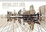 VIRTUAL CITY 2019 CH-Version (Wandkalender 2019 DIN A4 quer): Virtuelle Architektur - moderne Stadtansichten (Monatskalender, 14 Seiten ) (CALVENDO Orte) - Max Steinwald
