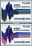 Prophila sellos para coleccionistas: Naciones Unidas-Ginebra 81-82 (completa.edición.) nuevo con goma original 1979 undro