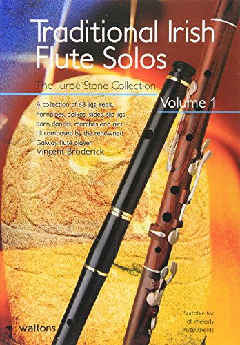 Traditional Irish Flute Solos (Volume 1): A Fresh 4-part Collection of Songs and Ballads with Words, Music and Guitar Chords: Bk. 3 by Broderick (1-Dec-1998) Paperback