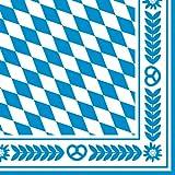 Susy Card 11095262 Serviette, Bayernraute, 33 x 33 cm