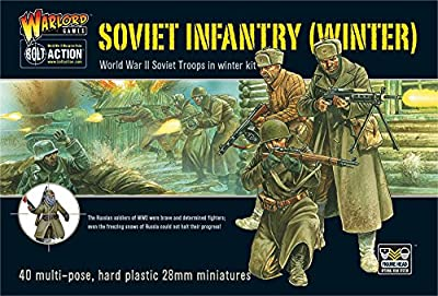 Warlord Games BRI04 BA - Soviet Winter Infantry