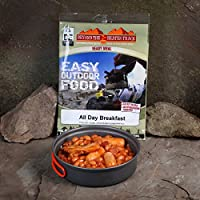 Beyond The Beaten Track Unisex's Fw All Day Breakfast Ready Meal Kit, Silver, Medium