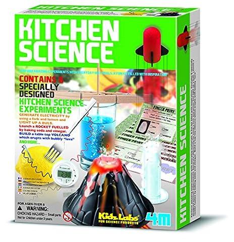4M - 5603296 - Jeu Éducatif et Scientifique - Science Kitchen