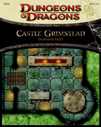 Castle Grimstead - Dungeon Tiles (Dungeons & Dragons Miniatures) por Wizards RPG Team