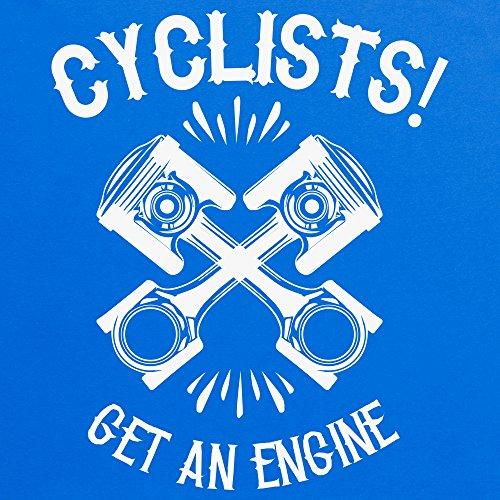 Get An Engine T-Shirt, Herren Royalblau