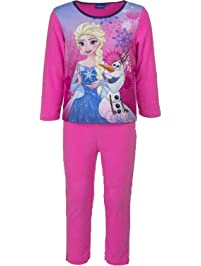 Disney Frozen Anna Elsa Kids Polar Fleece Pijamas / Ropa de dormir