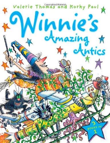 Winnie's amazing antics : 3 books in 1