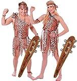 Couples Caveman & Cavewoman Déguisement gonflable 2 Clubs