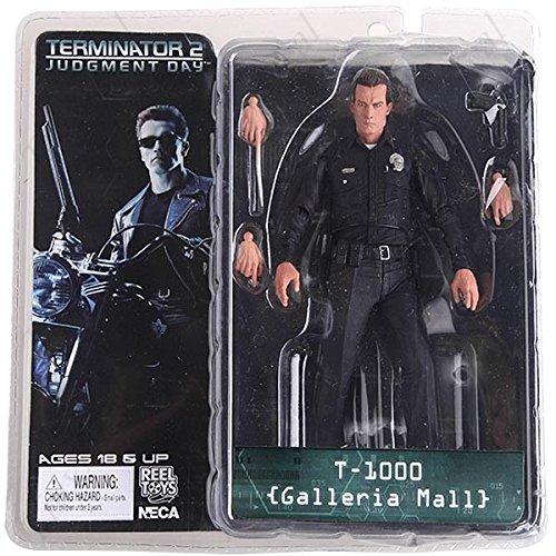Freies Verschiffen NECA The Terminator 2 Action-Figur T-1000 Galleria Mall Abbildung Spielzeug 7