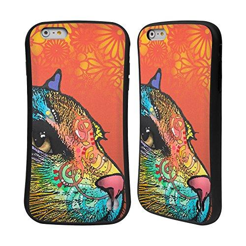Ufficiale Dean Russo Macchia Gatti 2 Case Ibrida per Apple iPhone 6 Plus / 6s Plus Macchia