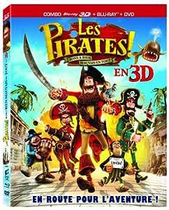Les Pirates ! Bons à rien, mauvais en tout [Combo Blu-ray 3D + DVD]