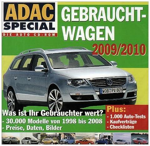 ADAC Special, CD-ROMs : Gebrauchtwagen 2009/2010, 1 CD-ROM Was ist Ihr Gebrauchter wert? 30.000 Modelle von 1998 bis 2008. Preise, Daten, Bilder. Plus 1.000 Auto-Tests, Kaufverträge, Checklisten. Für Windows XP, Windows Vista, Windows 2000, 98 oder (Test 2008)