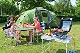 Campingaz Gasgrill 1 Series Compact LX R, Kompakter Tischgrill mit Stahlbrenner, Deckel -Thermometer - 8