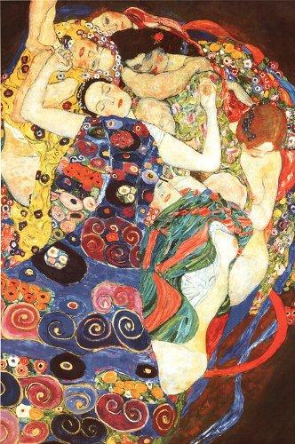Póster Gustav Klimt Die Jungfrau La Virgen 61cm x