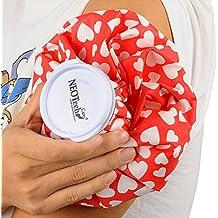 Bolsa de hielo para lesiones e inflamaciones - Tapón de rosca - Marca NEOtech Care ( TM ) - Diseños para adultos y para niños