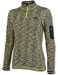 Joma–Sweat-shirt 1/2Zip Outdoor royal-verde pour femme