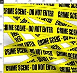 Tatort, Warnung, Vorsicht, Polizei Stoffe - Individuell