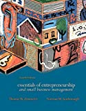 Essentials of Entrepreneurship and Small Business Management: International Edition