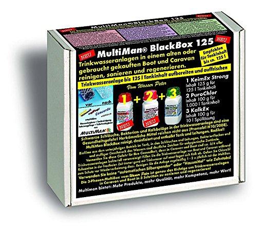 MultiMan BlackBox zur Reinigung von Trinkwasseranlagen (Sanierung und Reinigung), Tankgröße:Tanks ab 10 -125 l -