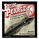 John Pearse 5000 Jeu de cordes Dulcimer Appalachian Naturel
