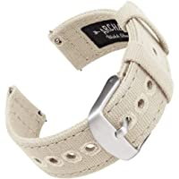 Archer Watch Straps | Cinturini Ricambio da Polso a Sgancio Rapido in Tela per Orologi e Smartwatch, Uomini e Donne…