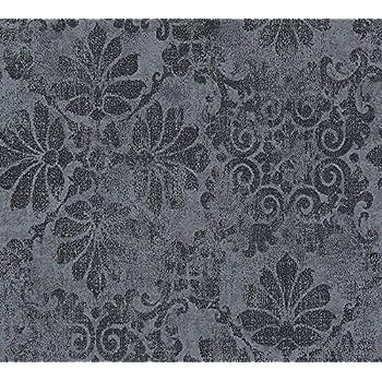 A.S Cr/éation Vliestapete Memory 3 Tapete Uni 10,05 m x 0,53 m grau Made in Germany 116093 1160-93