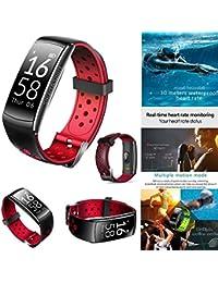 SMART Watch étanche suivi d'activité avec la fréquence cardiaque Monitor-new Fitness tracker Qutdoor Sports Q8IP68Bain pour bracelet