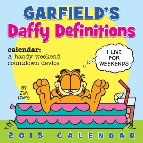 Garfield 2015 Wall Calendar